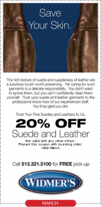 Suede & Leather Coupon