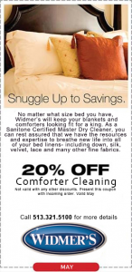 Comforter Cleaning Coupon