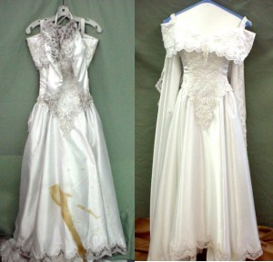 Preserving Your Dream Wedding Dress Dry Cleaning And Carpet