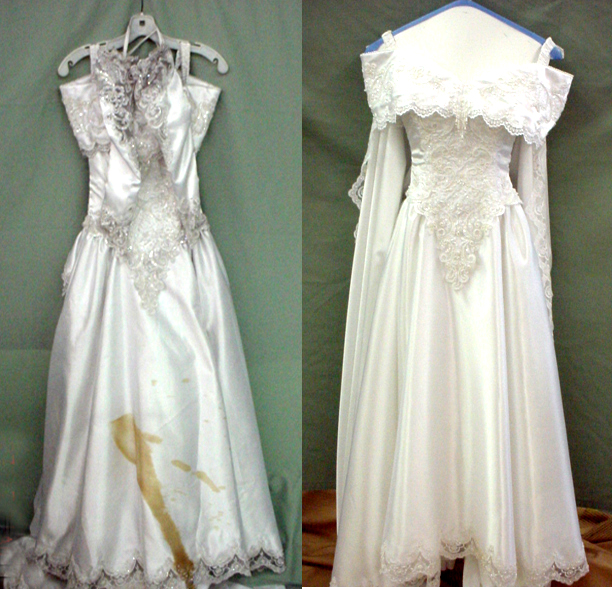 Preserving Your Dream Wedding Dress | Dry Cleaning and Carpet ...
