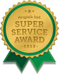 Angie's List 2015 Award